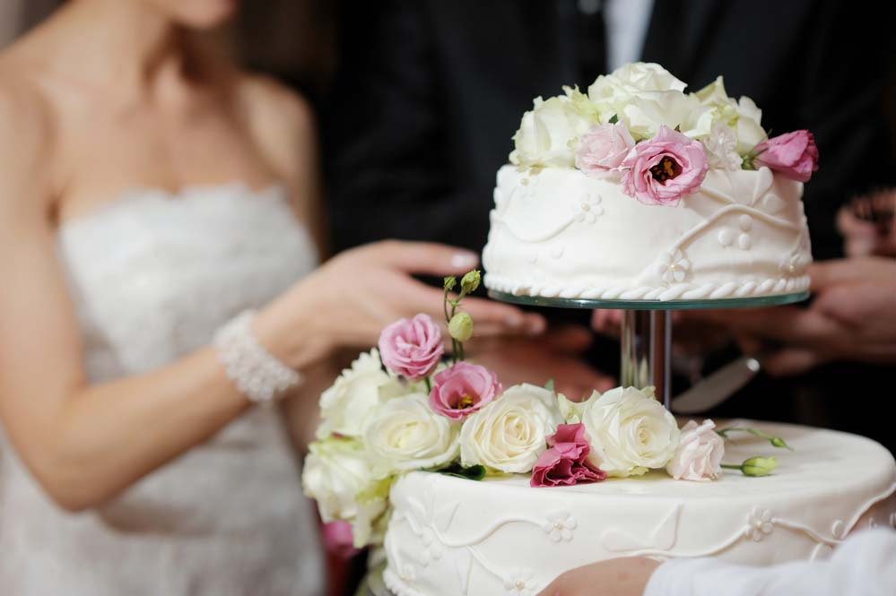 Bolo de casamento 2018