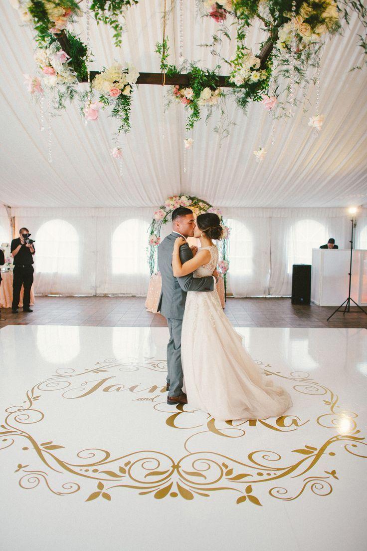 Decoração de casamento 2018 com pista de dança