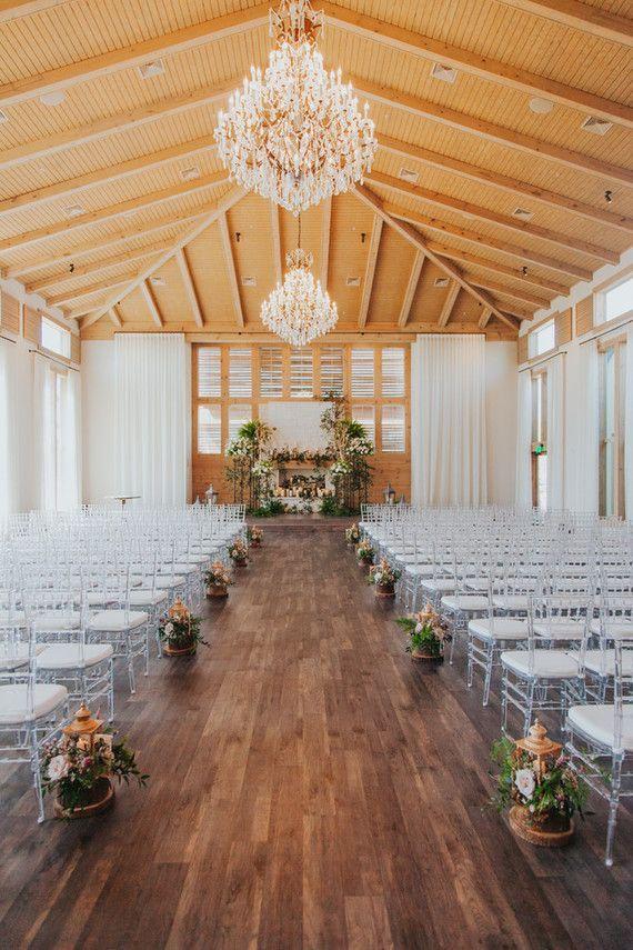 Luminária florida para casamento 2018