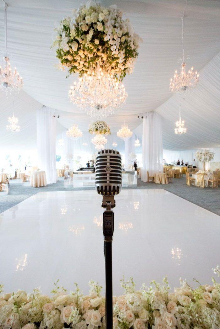 Branco na decoração de casamento 2018