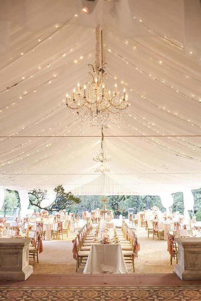 Lustre luxuoso para decoração de casamento 2018