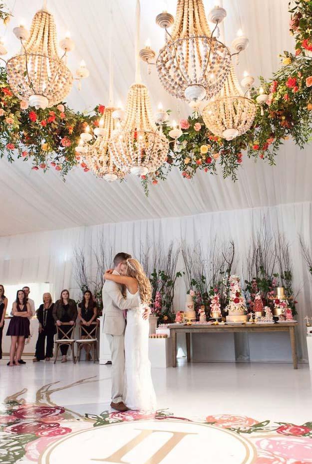 Lustres de casamento para decoração de 2018