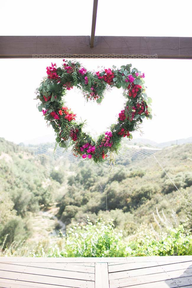 Guirlanda para decoração de casamento 2018
