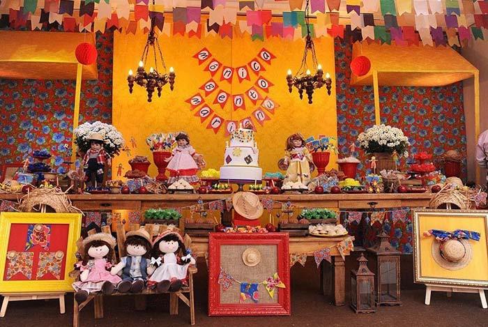 Dose tripla na comemoração de festa junina