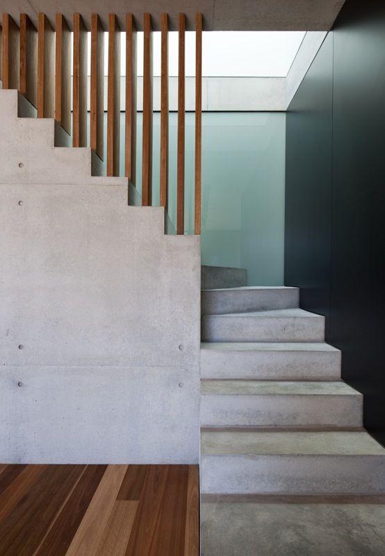 Dupla cheia de charme: concreto e madeira