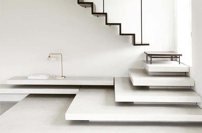 Escada de concreto: veja projetos, como construir e quanto custa