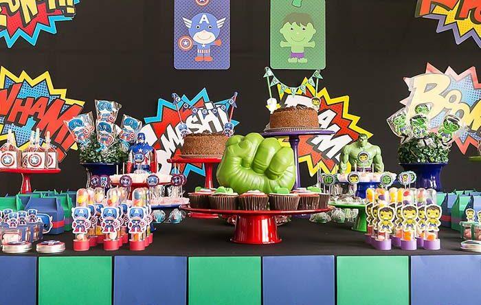 Festa dos Vingadores: veja 60 ideias incríveis para decorar com este tema