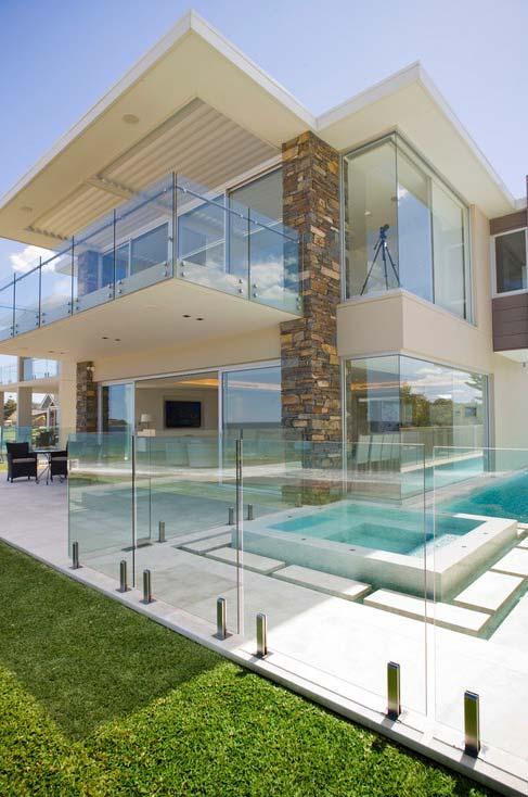 Telhado plano para casa moderna