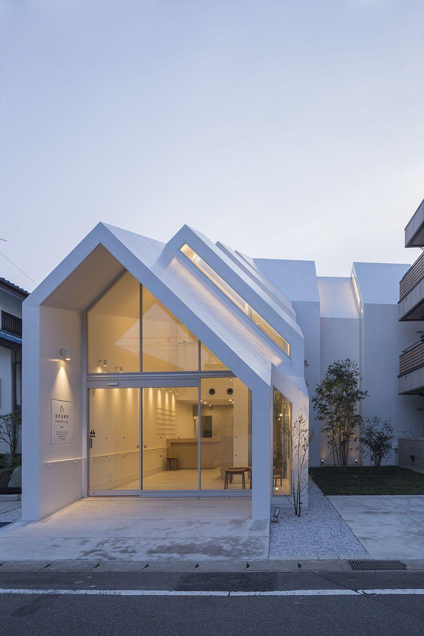Casa com telhado Salt