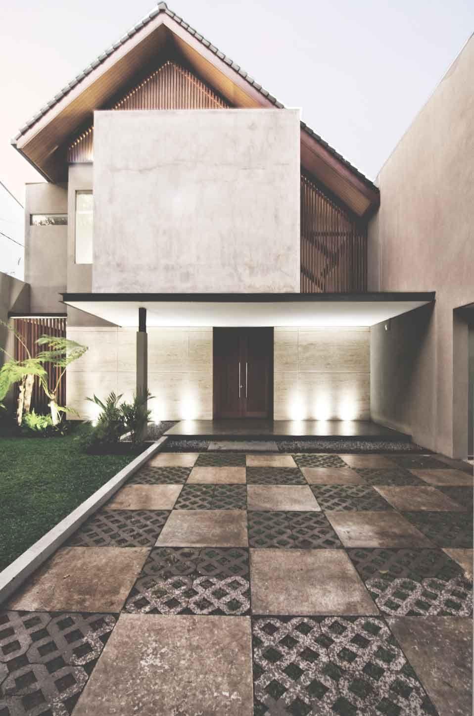 Design marcante com telhado Salt