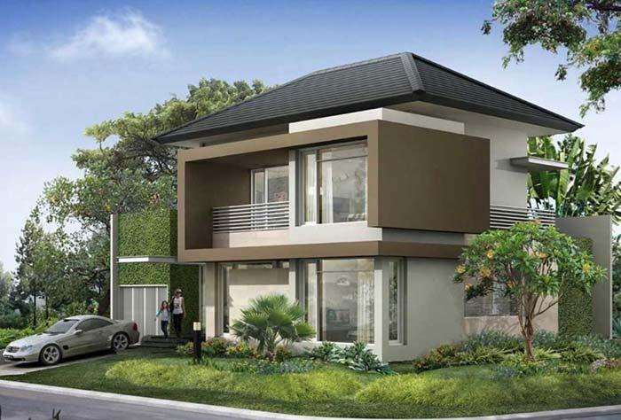 Uma casa com telhado fica mais acolhedora