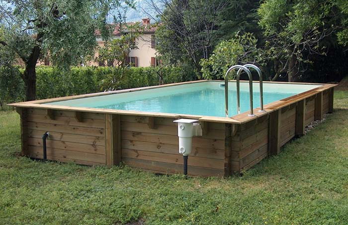 Filtro para piscina de pallet