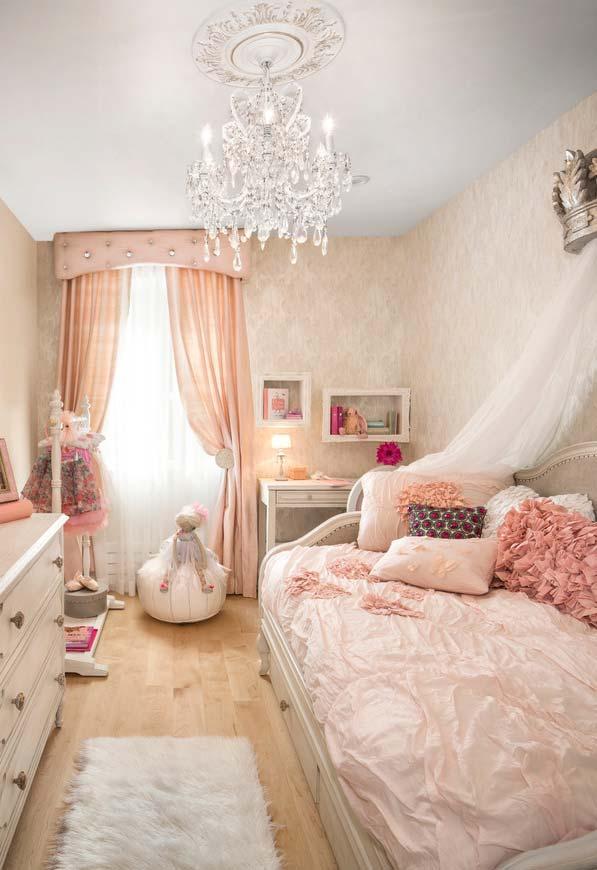 Um quarto real para a sua princesa