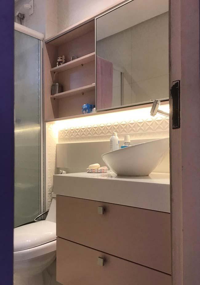 Cubas de apoio são tendência para os banheiros pequenos decorados