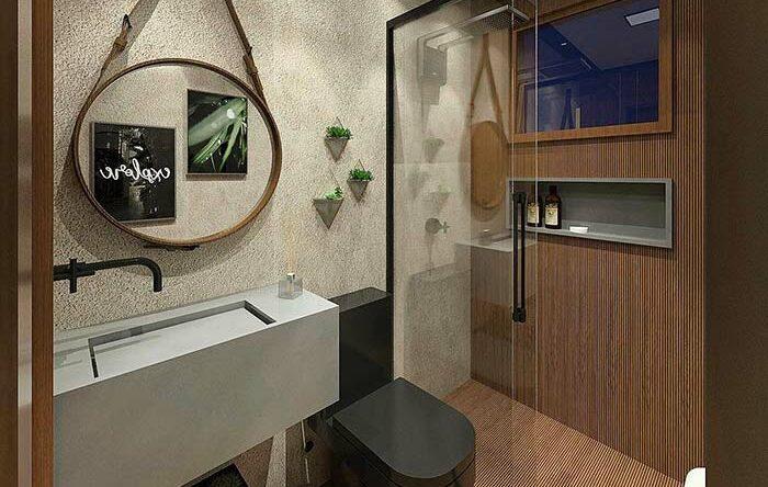 Banheiros pequenos decorados: 60 ideias e projetos perfeitos