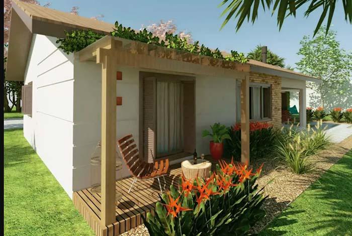 Projeto simples de casa de fazenda