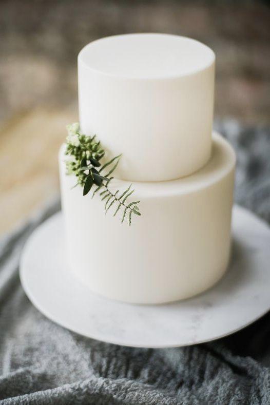 Um raminho verde e...voilà, o bolo está pronto
