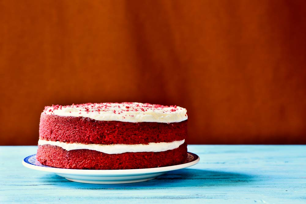 Massas e recheios de bolo simples de casamento