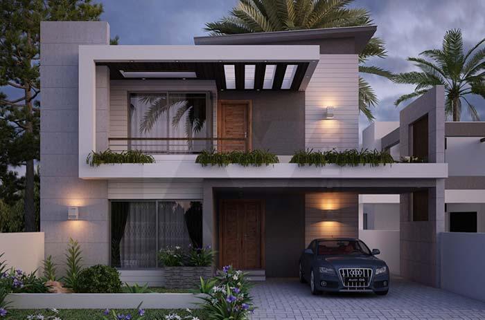 Iluminação valorizada em casas planejadas