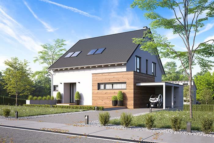 Casa planejada clássica