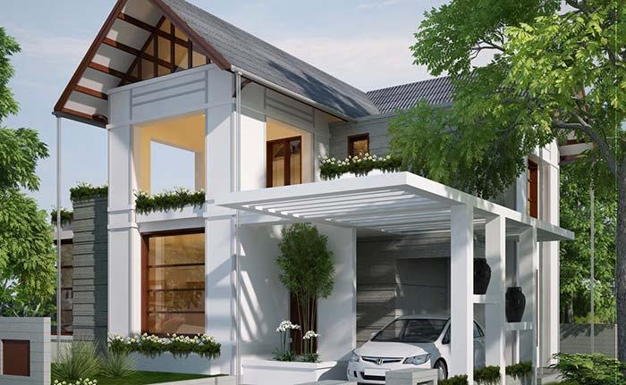 Modelo de casa planejada