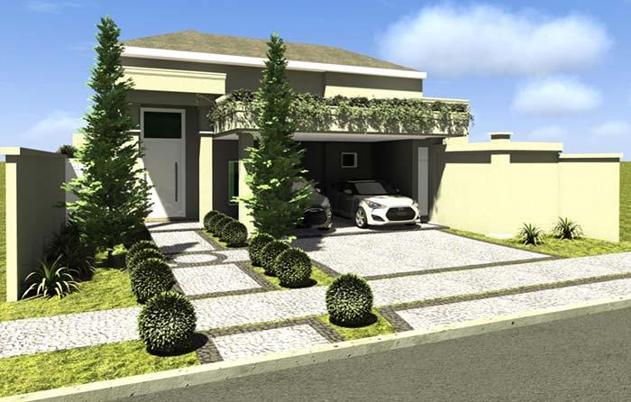 Casas planejadas: cobertura verde para a garagem