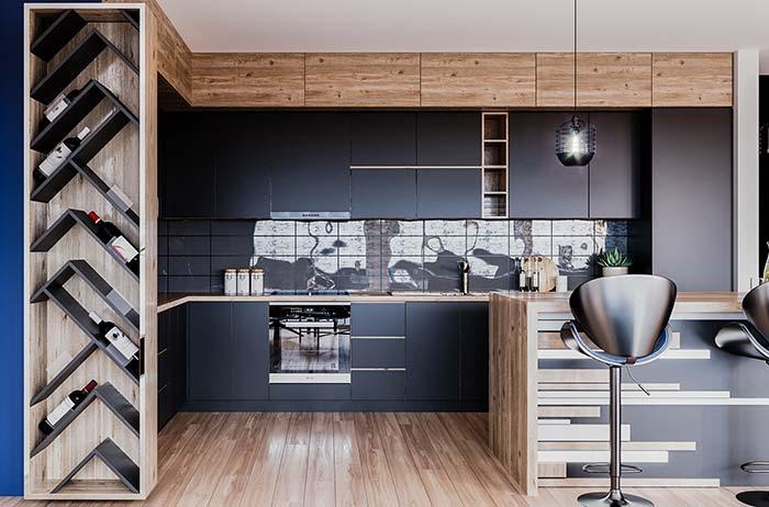 Cozinha planejada para casas planejadas