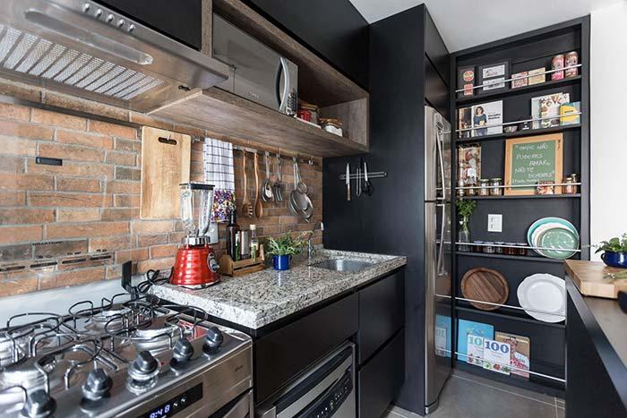 Toque pessoal a cozinha em casas planejadas