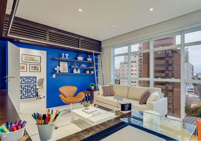 Casa planejada e colorida