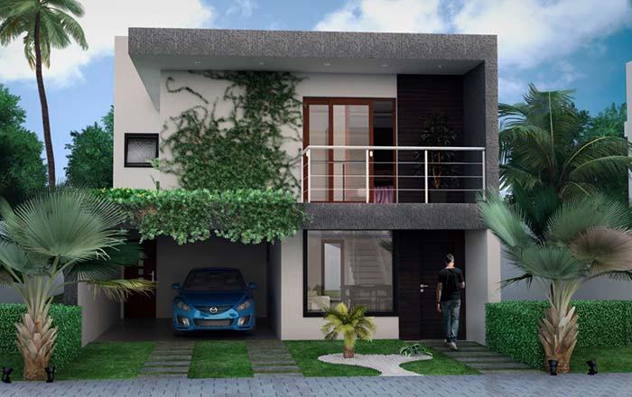 Paisagismo também entra no planejamento de casas planejadas