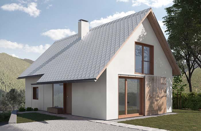 Modelo do telhado é definido no planejamento da casa