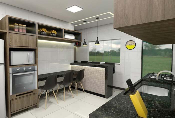 Opte pela uniformidade da cozinha