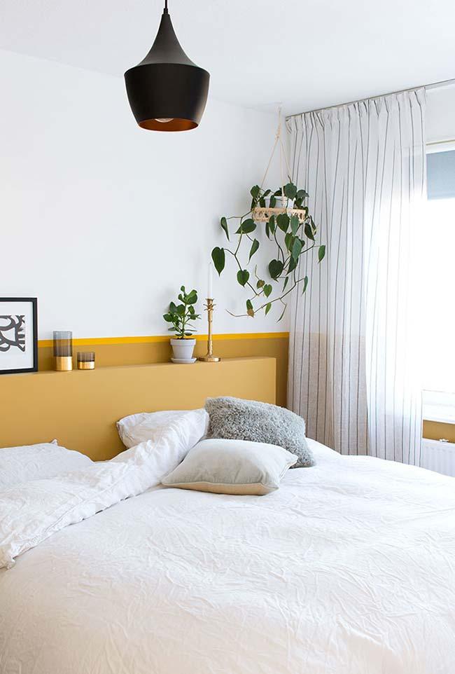 Decoração de quartos com iluminação natural