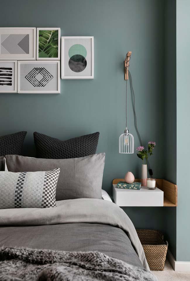 Decoração de quartos com design contemporâneo