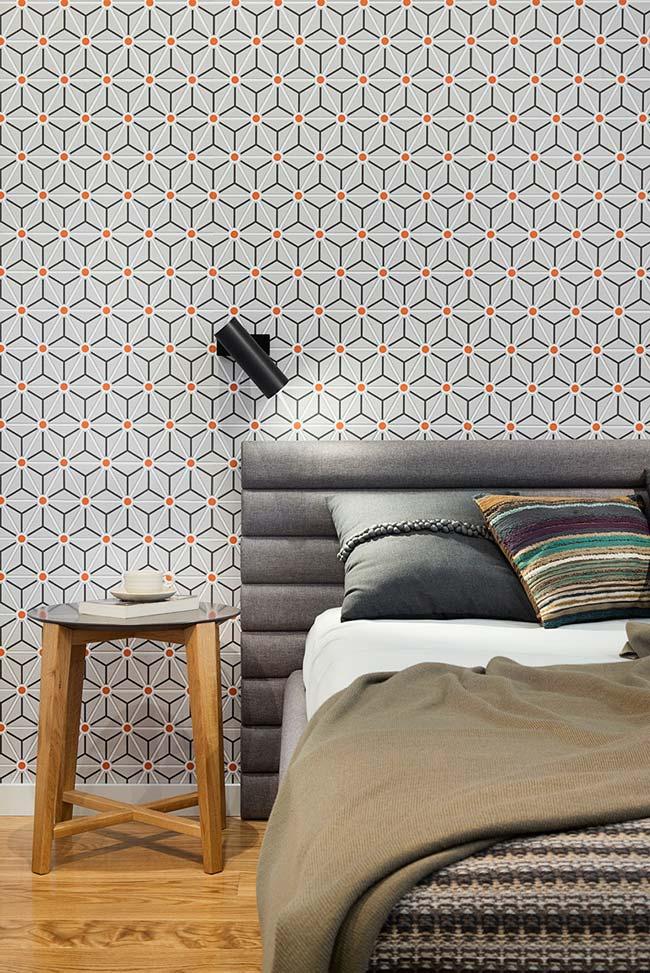 Papel de parede na decoração de quartos