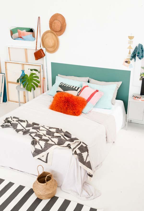 Decoração de quartos com o estilo contemporâneo