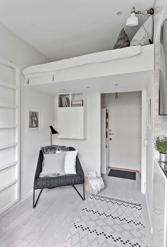 Soluções criativas para quartos pequenos