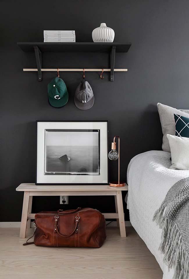 Decoração de quartos com ressignificação de objetos