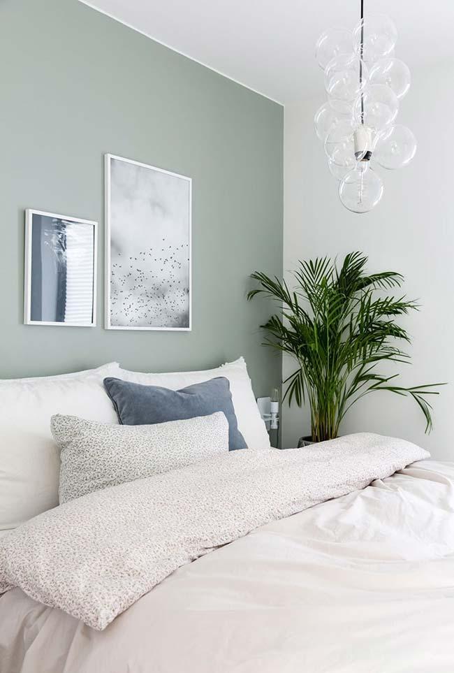 Vasinho de planta na decoração de quartos