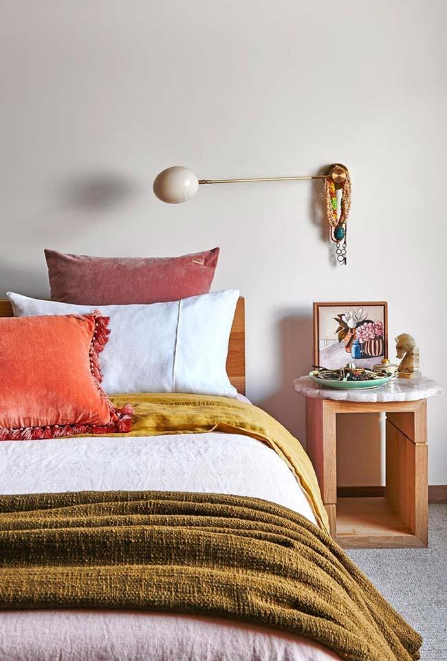 Cores na decoração de quartos