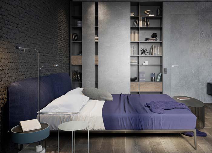 Cores para quartos sóbrios