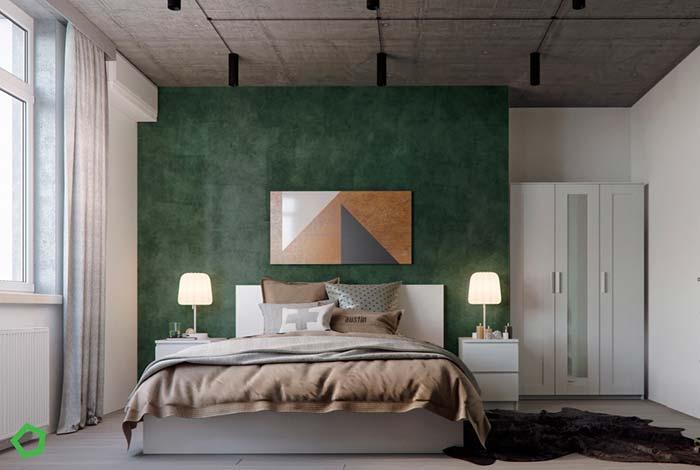 Cores para quarto: verde