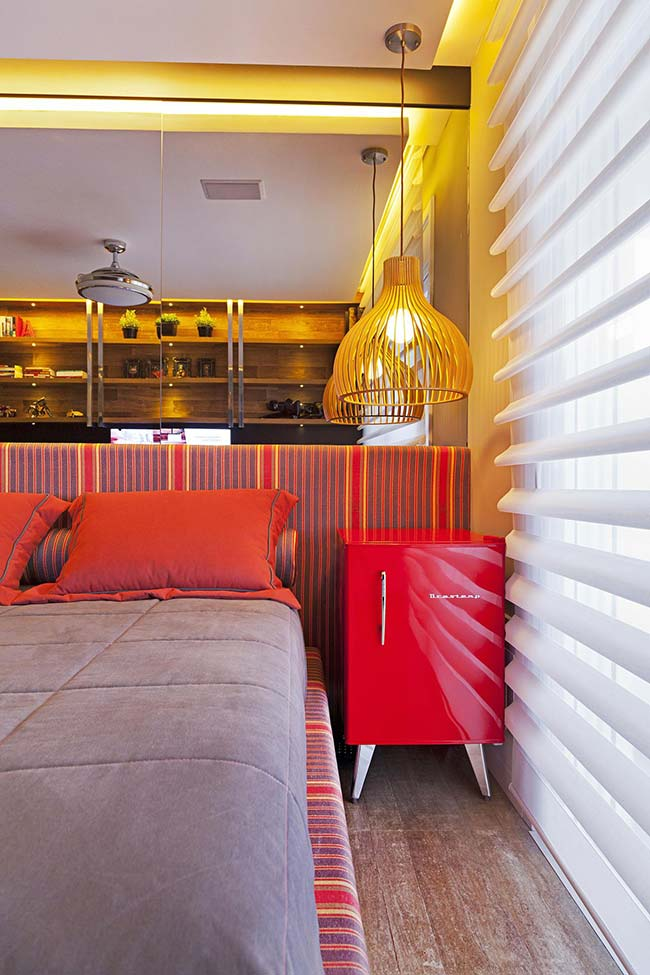 Cores para quarto com vermelho e amarelo