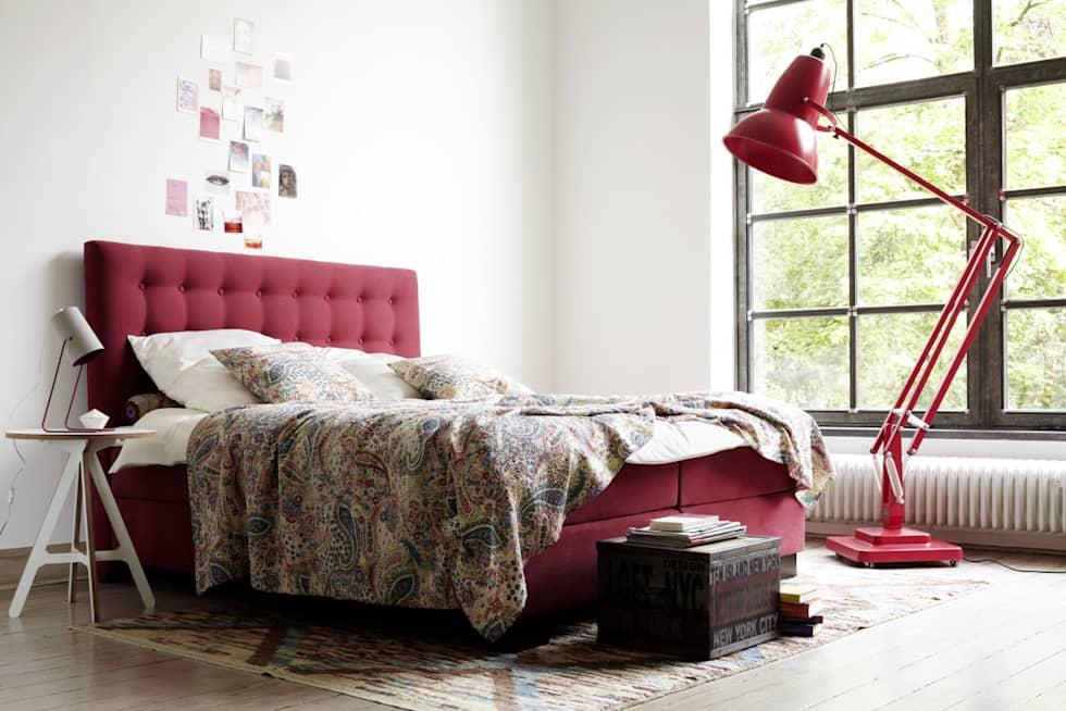 Vermelho como cor para quarto de casal