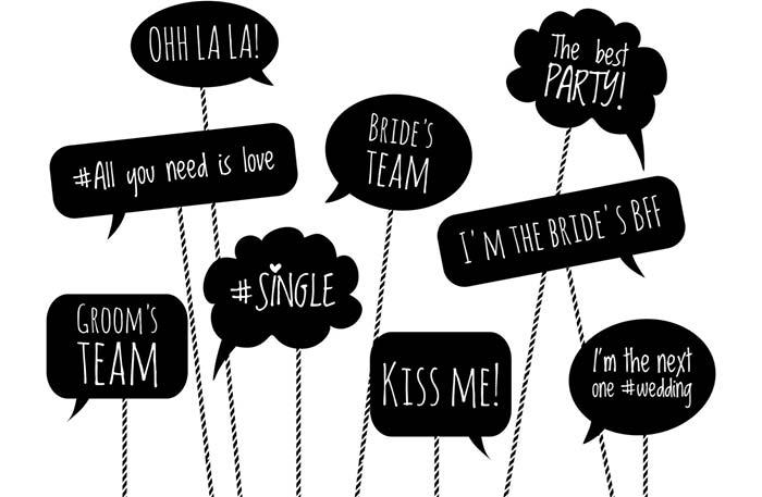Plaquinhas Para Festa Como Fazer Frases 60 Ideias Criativas