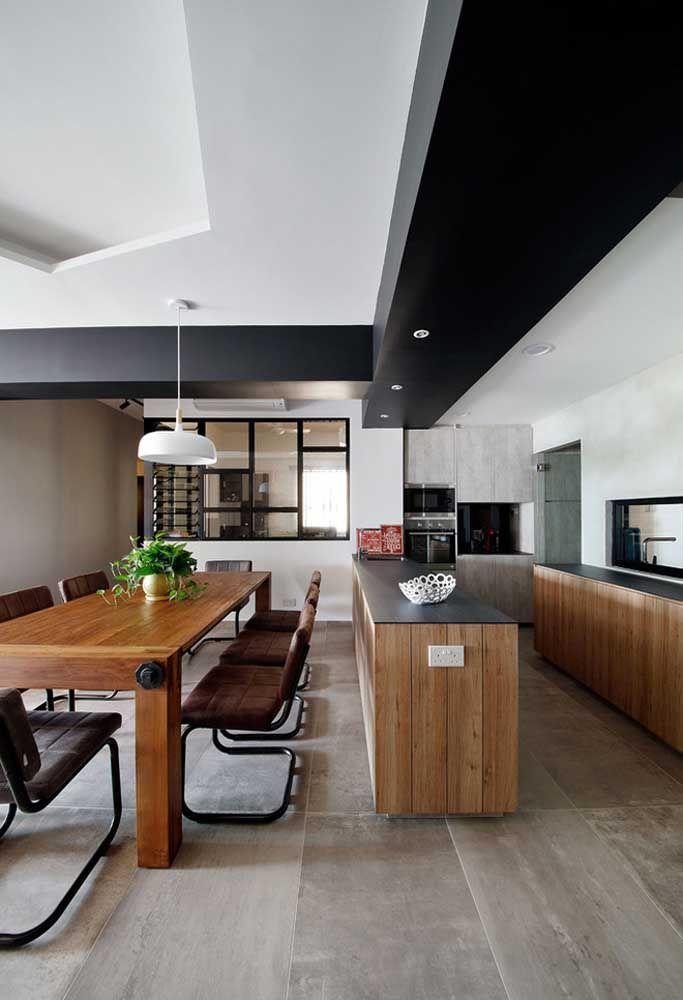 Aposte em uma cozinha grande para deixá-la luxuosa