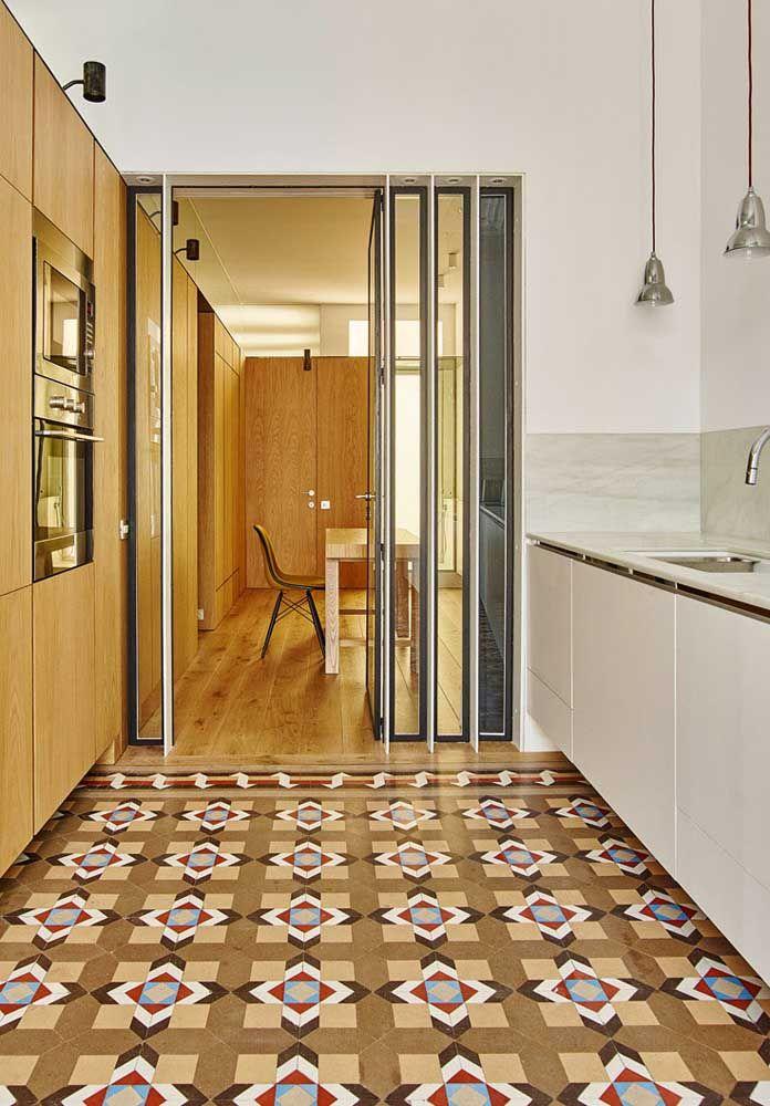 Um belo piso para destacar o ambiente