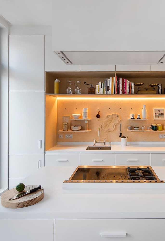 Uma boa iluminação pode fazer a grande diferença na decoração do ambiente