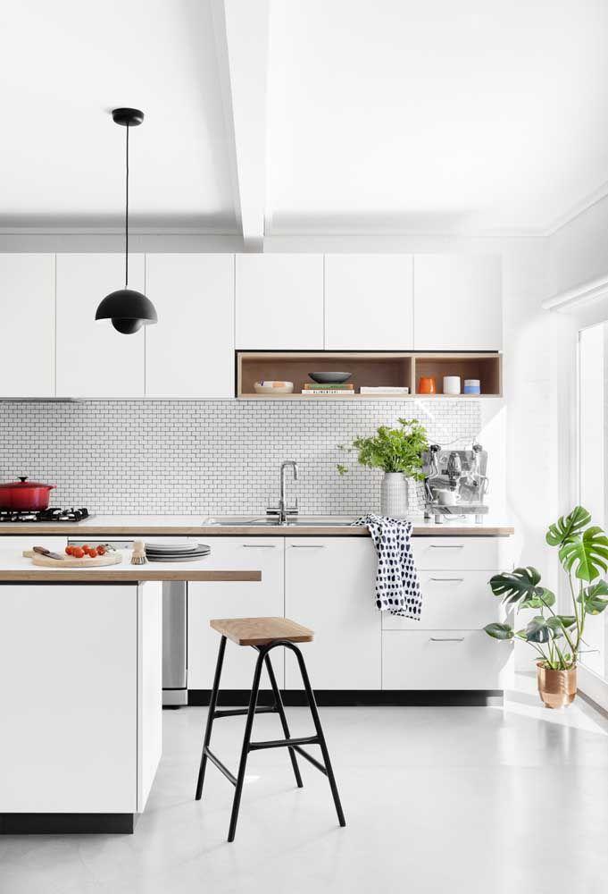 Um simples item decorativo para deixar a cozinha mais sofisticada