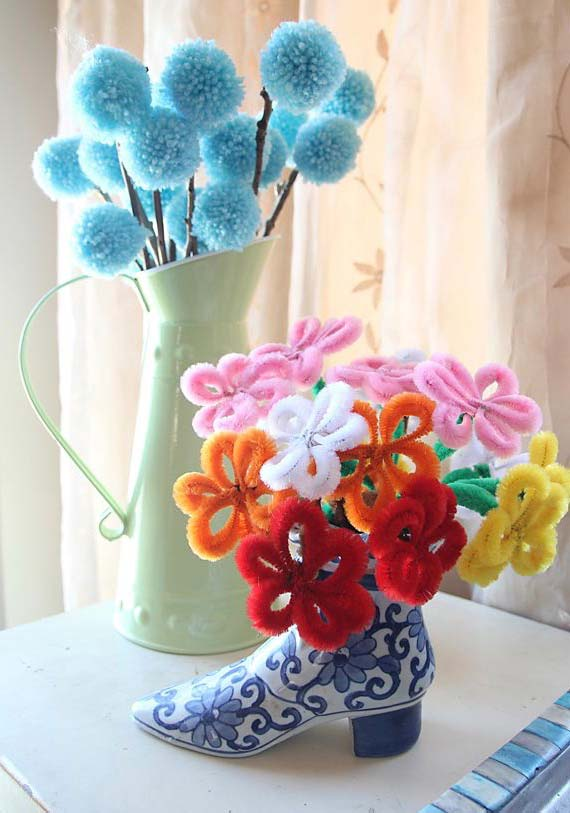 Arranjos de flores bem diferentes